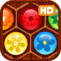Flower Board HD - A relaxing puzzle game (AppStore Link)