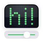 Immagine per LEDit – L'applicazione banner al LED