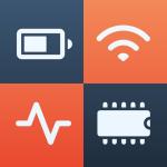 Immagine per System Status - battery, memory, CPU & data usage