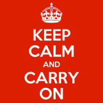 Icona applicazione Keep Calm and Carry On
