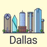 Immagine per Dallas Guida di Viaggio con Mappa Offline