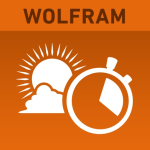 Icona applicazione Wolfram Sun Exposure Reference App