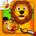 Icona applicazione Giochi per bimbi e bambini Gratis: Savana Puzzle