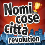 Icona applicazione Nomi Cose Città Revolution