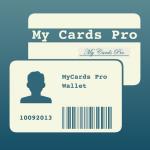 Icona applicazione My Cards Pro - Portafoglio