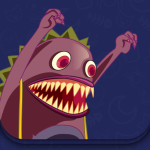 Immagine per Monster and Cat - Interactive story Play Book game