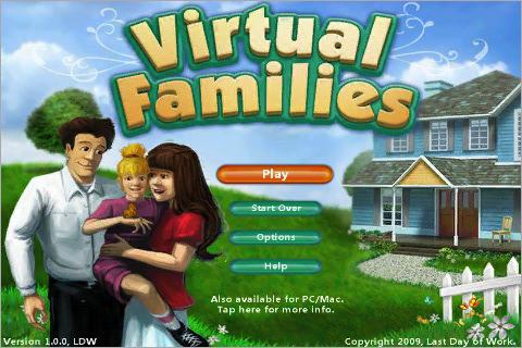 Virtual families crea e gestisci la tua famiglia virtuale for Crea la tua casa virtuale