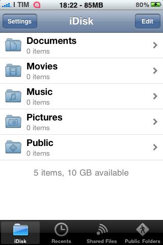 App   Vidéo tutoriel MobileMe iDisk sur le site dApple