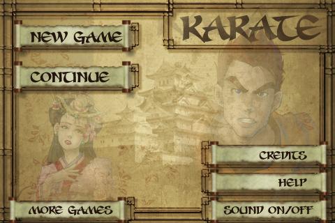 karate_main_menu