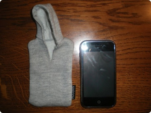 iPod & IPhone Hoodie Cover
