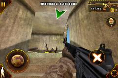 Jeux   Modern Combat: Sandstorm test complet pour iPhone