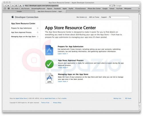 app store resource center ispazio