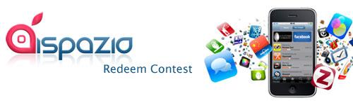 ispazio-redeem-contest