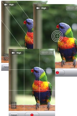 Video camera tante opzioni aggiuntive per la for Opzioni di rivestimenti verticali