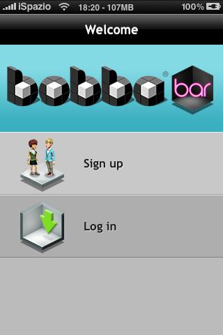 Bobba bar 1 1 crea il tuo personaggio e chatta con le for Crea il tuo avatar arreda le tue stanze