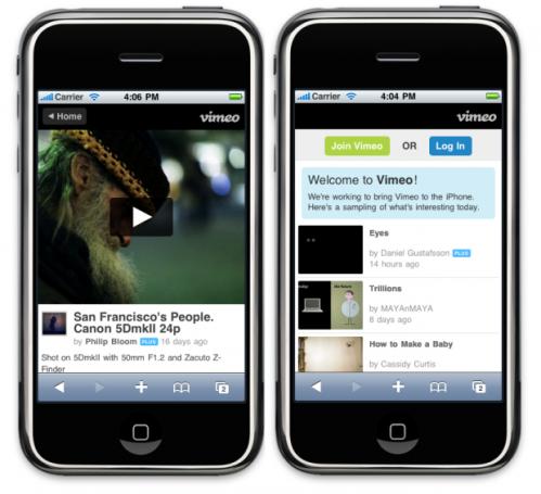 Vimeo-on-iPhone