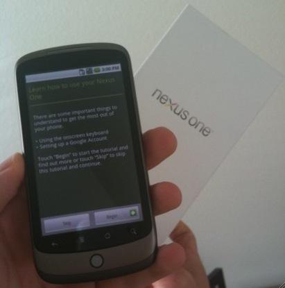 nexus one google phone
