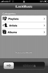 IMG 0148 160x240 Cydia   iLockMusic : un nouveau Cydget pour votre LockScreen