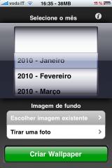 IMG 0162 160x240 AppStore   Desktop Calendar : Intégrez un calendrier sur la photo de votre lockScreen !