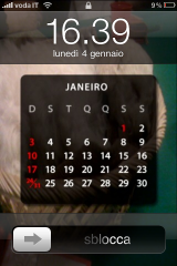 IMG 0164 160x240 AppStore   Desktop Calendar : Intégrez un calendrier sur la photo de votre lockScreen !