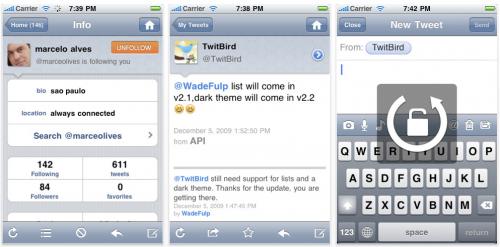 Schermata 2010 01 02 a 02.35.20 500x247 AppStore   Mise à jour : TwitBird Pro passe en 2.2