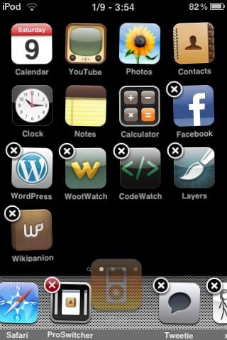 Infinidock. Красивый и быстрый доступ к приложениям.
