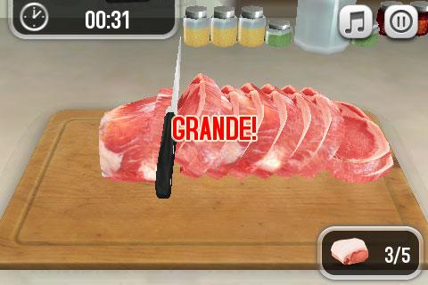 Pocket chef un bellissimo gioco di cucina in 3d for Cucinare in 3d