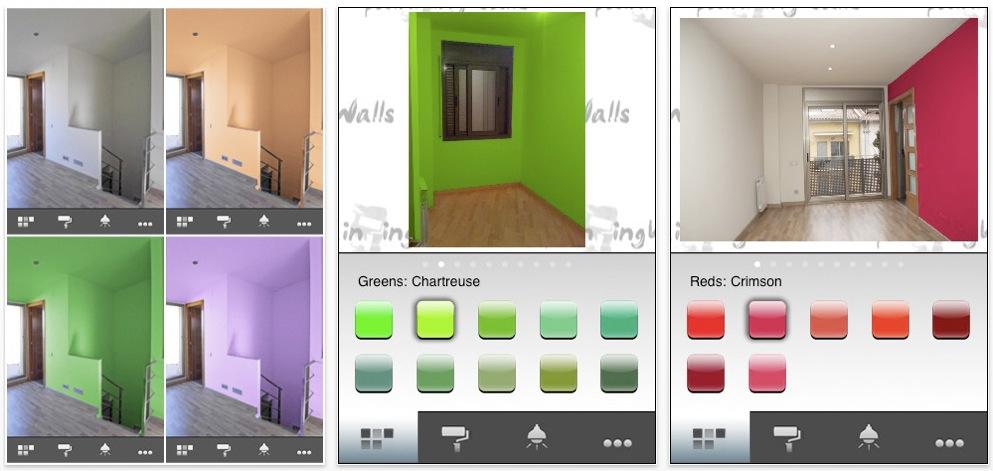 Paintingwalls scegli il colore ideale per pitturare la tua casa appstore video ispazio - Pitturare la casa ...