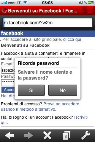 benvenuti su facebook