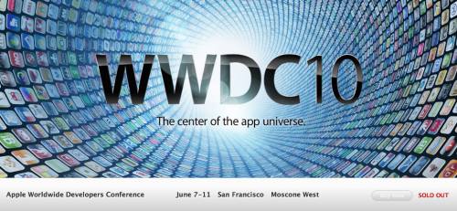 32384 500x231 News   Le WWDC 2010 dApple est complet.