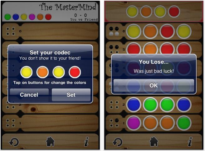 The mastermind il gioco dei pioli anche sul tuo iphone for Cambiare il percorso dei backup del tuo iphone