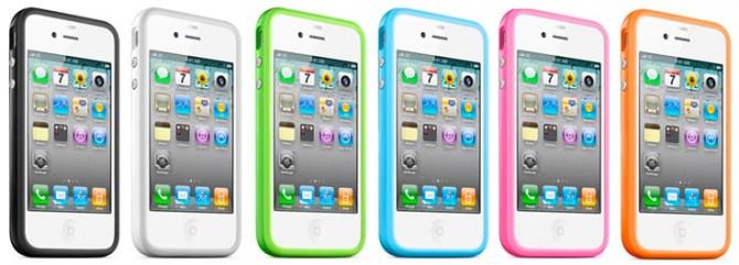Da oggi i Bumper di Apple per iPhone 4 sono disponibili in tutte le colorazioni [AGGIORNATO]