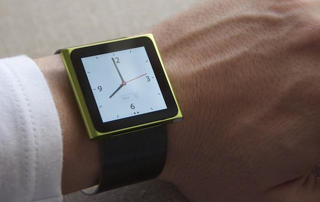 L'iPod Nano 6G come orologio da polso con 10:10, un bracciale in acciaio tutto italiano! | Accessori