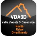 Vda3D porta il relax ed il divertimento della Valle d'Aosta sui vostri dispositivi