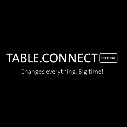 Continuano i test del Table Connect for iPhone | Video