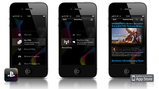 L'applicazione ufficiale di Playstation è in arrivo su iPhone ed Android.