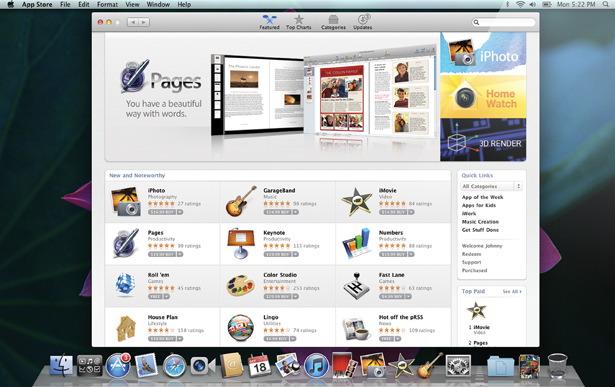 Mac App Store: trapelano le prime immagini del negozio virtuale Apple