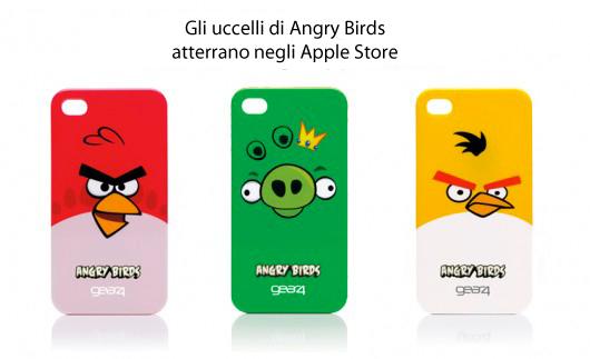 "Le nuove cover firmate Angry Birds ""atterrano"" negli Apple Store"