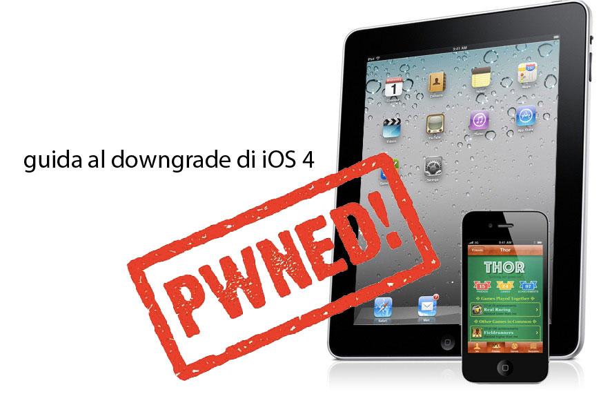 GUIDA: Downgrade da iOS 4.2.1 ad iOS 4.1 senza ECID salvato [Aggiornato: guida rimossa]