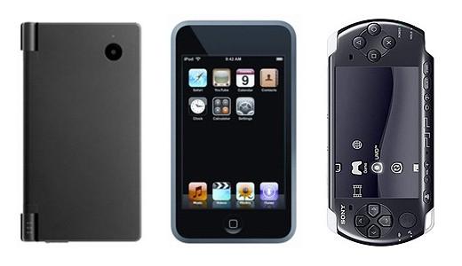 Gli utenti iniziano a lasciare i propri DS e le PSP a favore degli smartphone