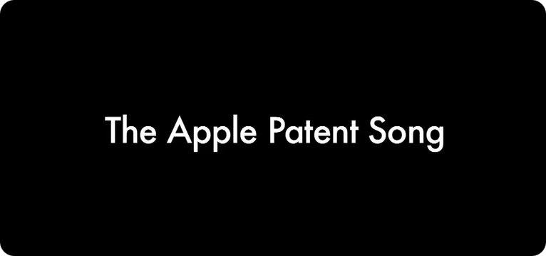 Una canzone per i brevetti Apple
