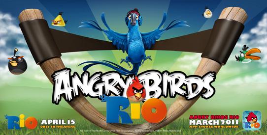 Angry Birds Rio sarà lanciato a Marzo in versione iPhone e iPad