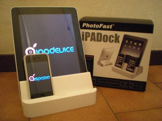 iPADock in offerta per gli utenti di iSpazio ed iPadevice con il 10% di sconto
