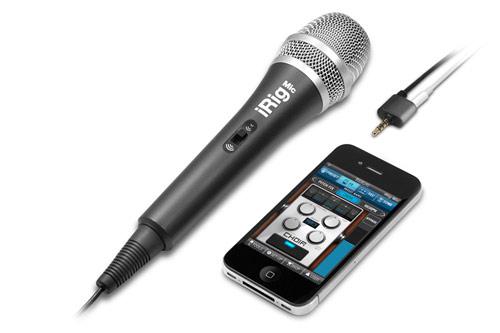 Dal CES di Las Vegas arriva iRig, un microfono professionale per i nostri iDevice