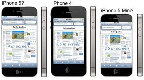 I Mockup del presunto iPhone 5 inondano il web