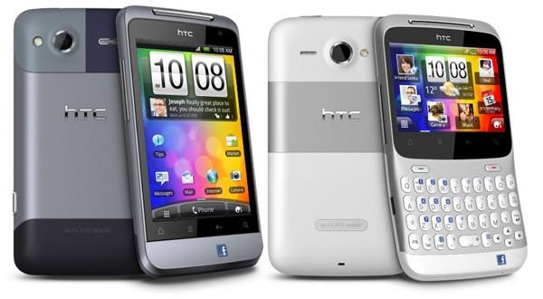 MWC 2011: Ecco i due nuovi Facebook Phone di HTC: Salsa e ChaCha!