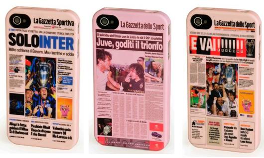 Arriva la custodia per iPhone 4 firmata 'La Gazzetta dello Sport'