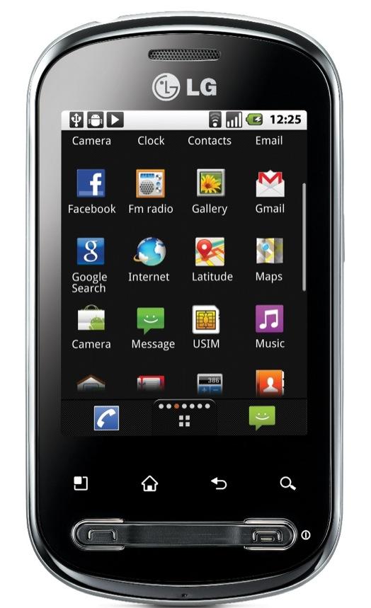 LG Optimus Life: Un nuovo smartphone completo ed economico basato su Android Froyo a soli 159€