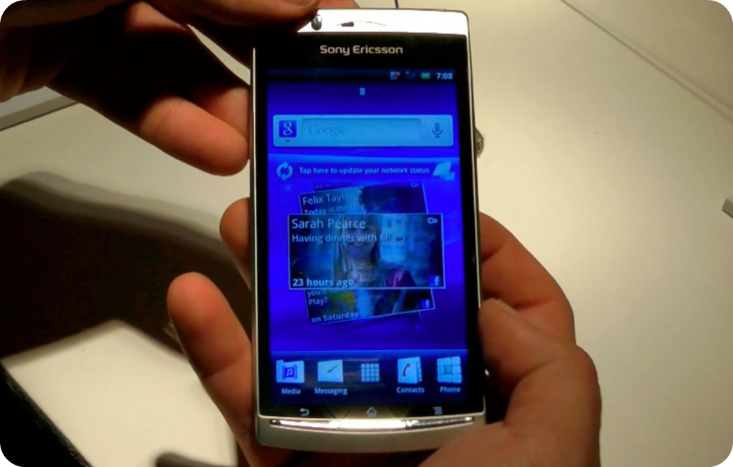 SonyEricsson Xperia Arc: il sottilissimo smartphone provato da iSpazio   MWC 2011