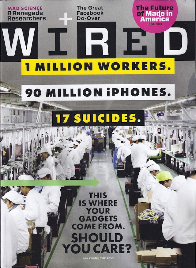 Un milione di lavoratori, 90 milioni di iPhone, 17 suicidi. | Approfondimenti